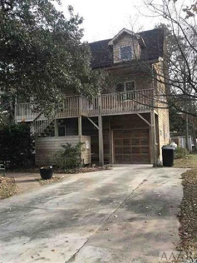 Dare County Single Family Home For Sale: 809 Cedar Drive