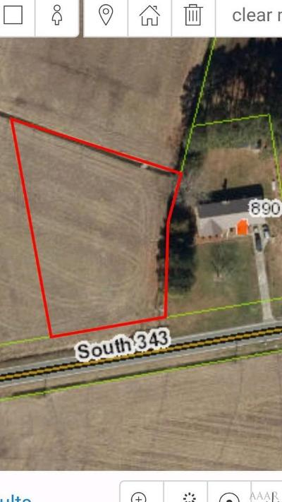 Camden County Land/Farm For Sale: Tbd S Hwy 343