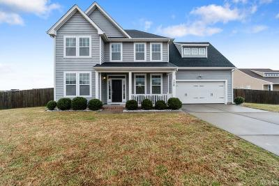 Moyock Single Family Home For Sale: 120 Cypress Landing Drive