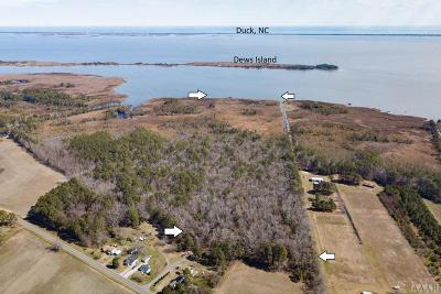 Currituck County Land/Farm For Sale: Jarvisburg Road
