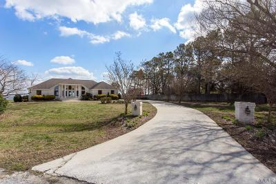 Currituck County Single Family Home For Sale: 525 Waterway Court
