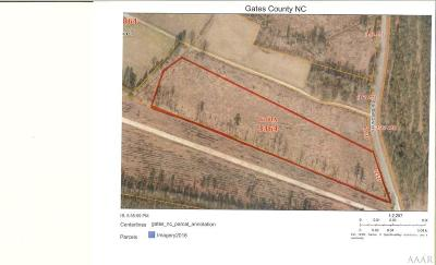 Gates County Land/Farm For Sale: Tbd Saunders Road