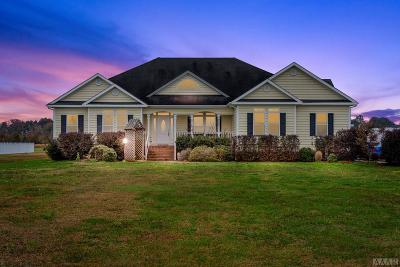 Camden County Single Family Home For Sale: 589 Old Swamp Road