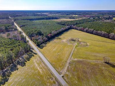 Gates County Land/Farm For Sale: 256 E Hwy 158