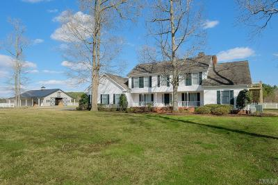 Chowan County Single Family Home For Sale: 632 Poplar Neck Road
