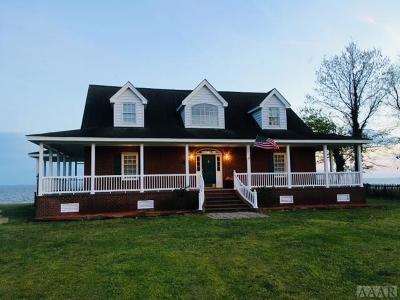 Perquimans County Single Family Home For Sale: 451 Goose Nest Lane