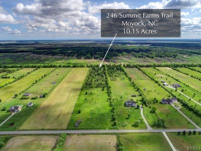Moyock Land/Farm For Sale: 246 Summit Farms Trail