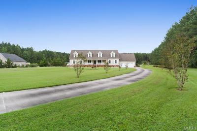 Gates County Single Family Home For Sale: 194 Water Swamp Road