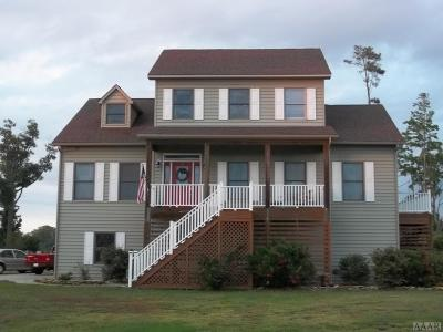 Pasquotank County Single Family Home For Sale: 451 Pointe Vista Drive