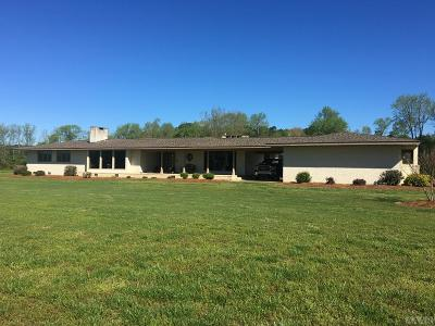Hertford County Single Family Home For Sale: 442 E Woodrow School Road
