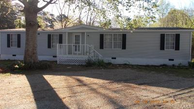 Moyock NC Single Family Home For Sale: $89,500