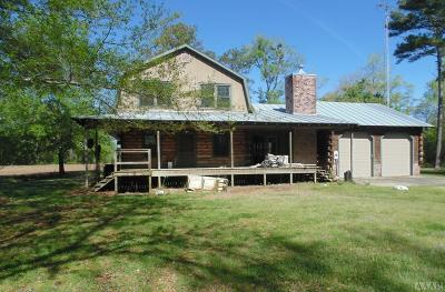Hertford County Single Family Home For Sale: 206 Wiccacon Road