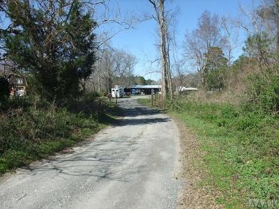 Currituck County Land/Farm For Sale: 164 W Mobile Road