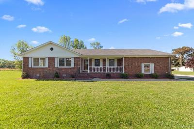 Camden County Single Family Home For Sale: 106 Mitchell Lane
