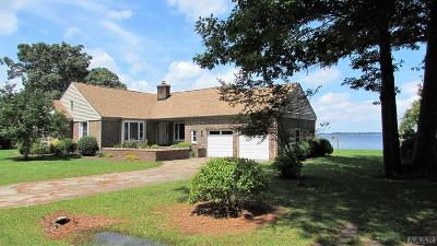 Pasquotank County Single Family Home Under Contract: 118 Bayshore Dr
