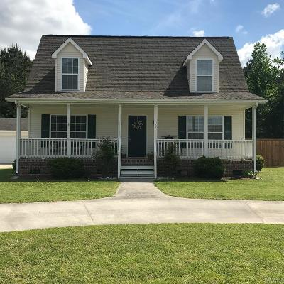 Moyock Single Family Home Under Contract: 163 Guinea Road