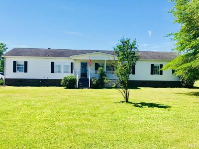 Camden County Single Family Home Under Contract: 213 S Hwy 343