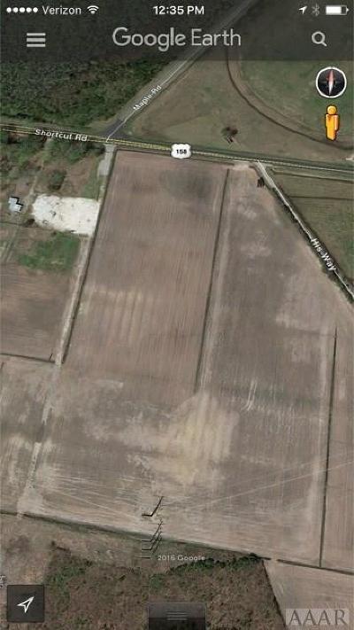 Currituck County Land/Farm For Sale: Shortcut Road