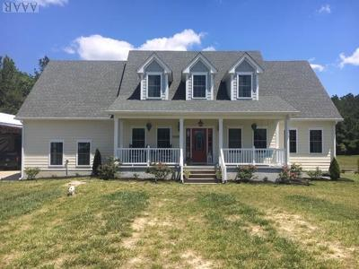 Currituck County Single Family Home Under Contract: 1601-B Caratoke Hwy
