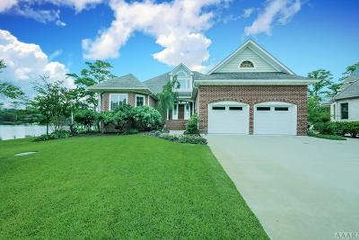 Perquimans County Single Family Home For Sale: 147 New River Drive
