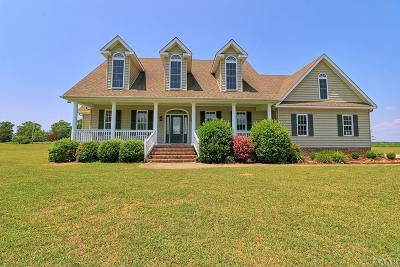 Pasquotank County Single Family Home For Sale: 116 Pailin Creek Road
