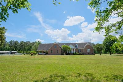 Chowan County Single Family Home For Sale: 432 Icaria Road