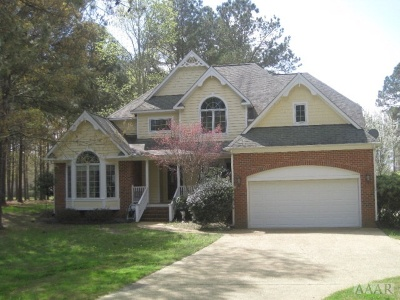 Perquimans County Single Family Home For Sale: 109 Currituck Drive