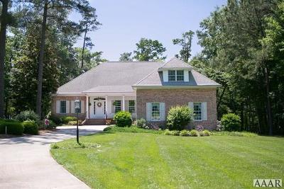 Perquimans County Single Family Home For Sale: 107 Yeopim Creek Circle
