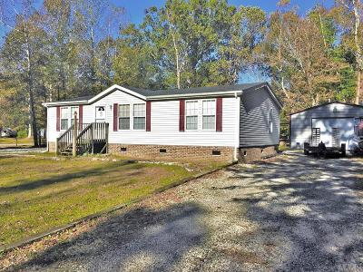 Moyock NC Single Family Home Under Contract: $155,000