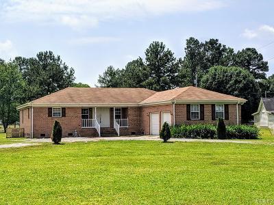 Gates County Single Family Home For Sale: 7 Lee Riddick Lane