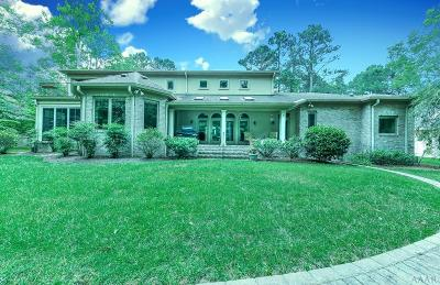 Perquimans County Single Family Home For Sale: 125 Cashie Drive