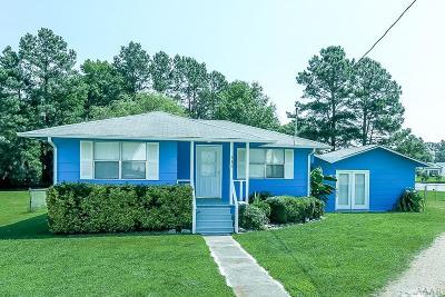 Moyock Single Family Home For Sale: 115 Porpoise Street