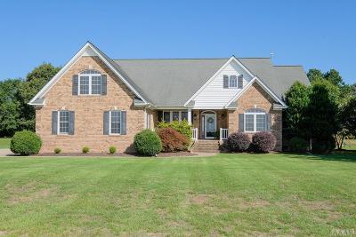 Chowan County Single Family Home Under Contract: 128 Schooner Landing Drive