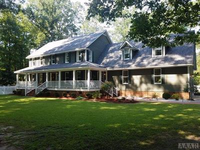 Hertford County Single Family Home For Sale: 201 Forest Drive