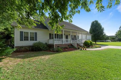 Perquimans County Single Family Home For Sale: 101 River Drive