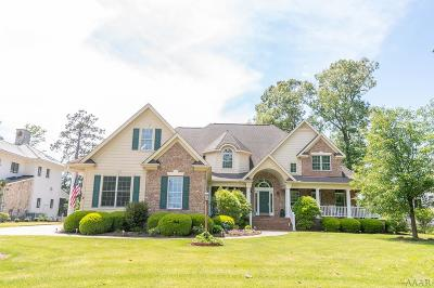 Perquimans County Single Family Home For Sale: 105 Back Creek Court