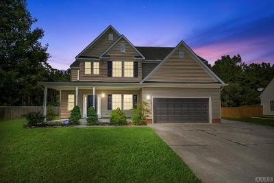 Moyock NC Single Family Home For Sale: $305,000