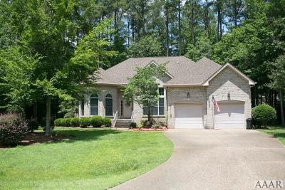 Perquimans County Single Family Home For Sale: 108 Neuse Circle
