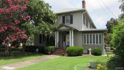 Perquimans County Single Family Home For Sale: 318 N Front Street