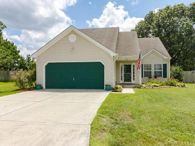 Moyock NC Single Family Home For Sale: $281,000