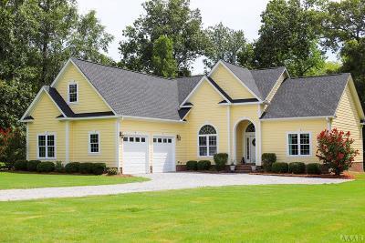 Chowan County Single Family Home For Sale: 111 Deer Path Trail
