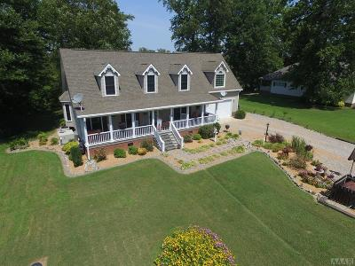 Hertford County Single Family Home For Sale: 121 Taylors Way