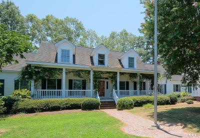 Chowan County Single Family Home For Sale: 1230 Sound Shore Drive