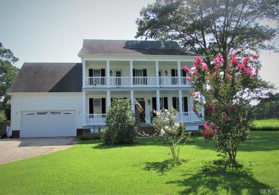 Pasquotank County Single Family Home For Sale: 505 Small Drive