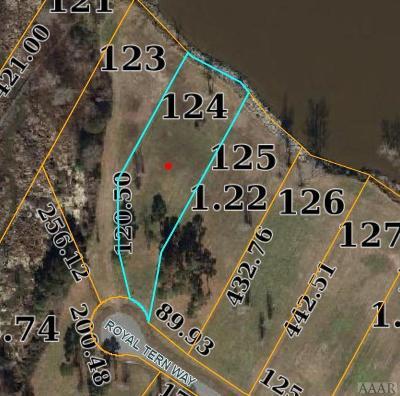 Perquimans County Land/Farm For Sale: 124 Royal Tern Way