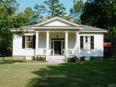 Hertford County Single Family Home For Sale: 310 N Fourth Street