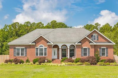 Gates County Single Family Home Under Contract: 1096 N Hwy 32