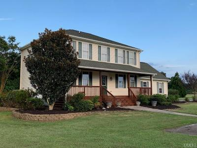 Perquimans County Single Family Home For Sale: 105 Atkins Way