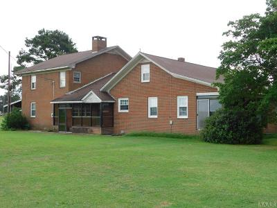 Chowan County Single Family Home For Sale: 613 Gliden Road