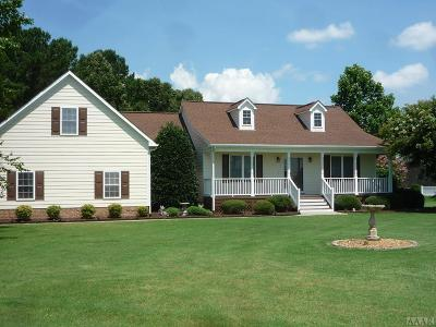 Perquimans County Single Family Home For Sale: 104 Back Creek Drive